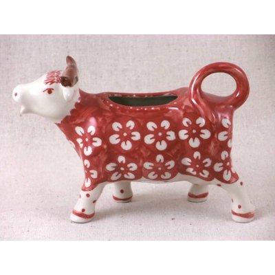 Scarlet Blossom Cow Creamer