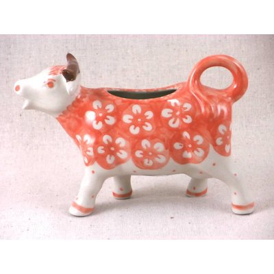 Orange Blossom Cow Creamer