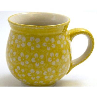 Yellow Blossom Bubble Mug - Lrg