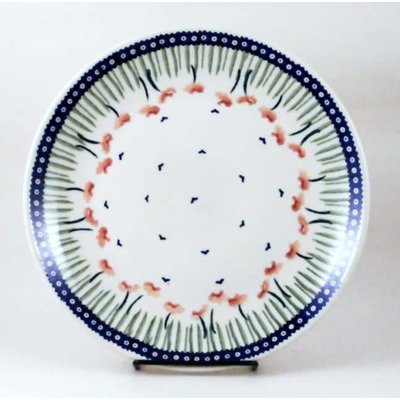 Red Poppies Dinner Plate 26
