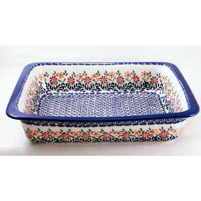 Marigolds Deep Rectangular Baker