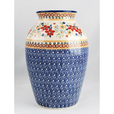 Posies Folk Vase