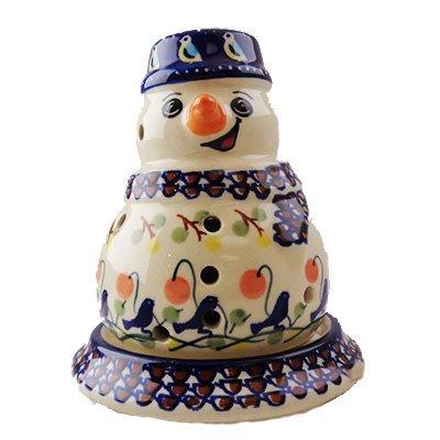 Bluebird Illuminated Snowman