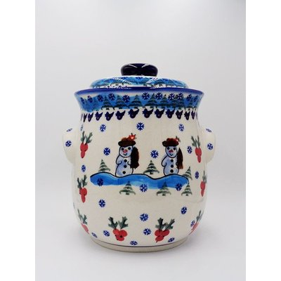 Frosty Cookie Jar