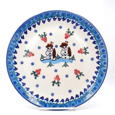 Frosty Dinner Plate 26