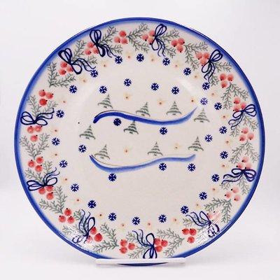 Winter Dinner Plate 26