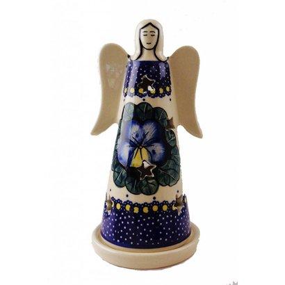 Pansies Illuminated Angel - Sm