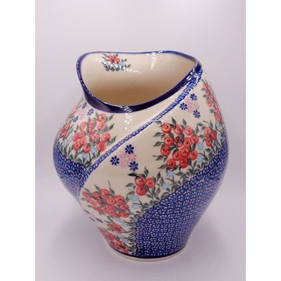 Kalich Red Berries Tulip Vase