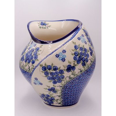 Kalich Blue Berries Tulip Vase