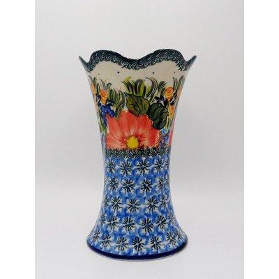 Kalich Peach Petals Fala Vase