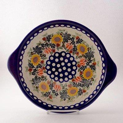 Kalich Sunflower Round Baker w/ Handles