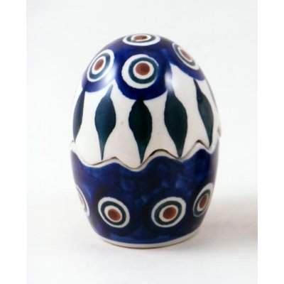 Peacock Egg Puzzle Salt & Pepper