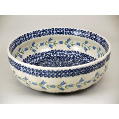 Bell Flower Agata Serving Bowl 28