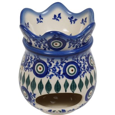 Fancy Peacock Aroma Therapy Fragrance Warmer