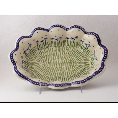 Blue Poppies Fruit Bowl