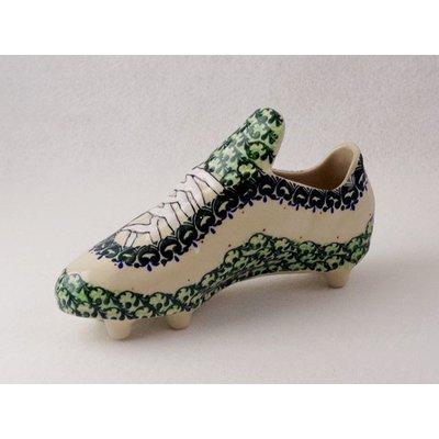 Millena Polish Pottery Soccer Shoe