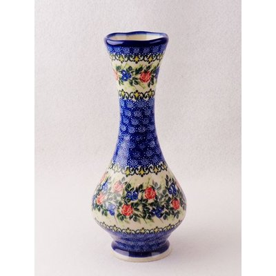 Kalich Trail of Roses Swirl Vase