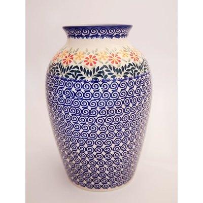Marigolds Folk Vase