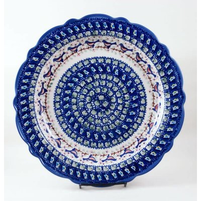 Robin Scalloped Platter 34
