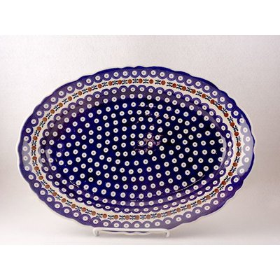 Mosquito Scalloped Basia Platter