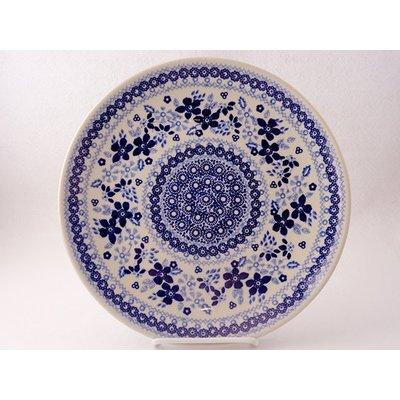 Indigo Garden Dinner Plate 26