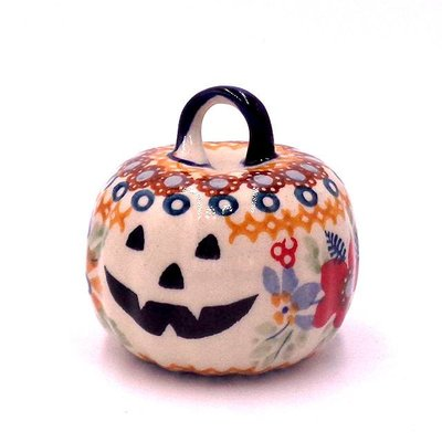 Posies Pumpkin Ornament