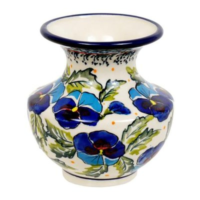 Pansy Dance Classic Vase