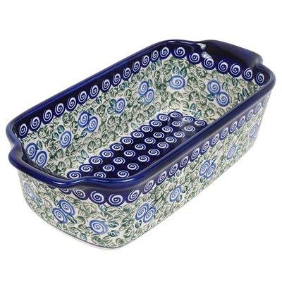 Blue Swirl Loaf Pan