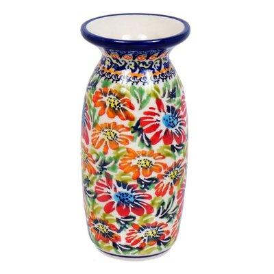 Primrose Swirl Ginger Vase