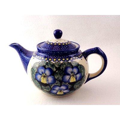 Pansies Teapot .7 Liter