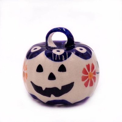 Pinwheels Pumpkin Ornament