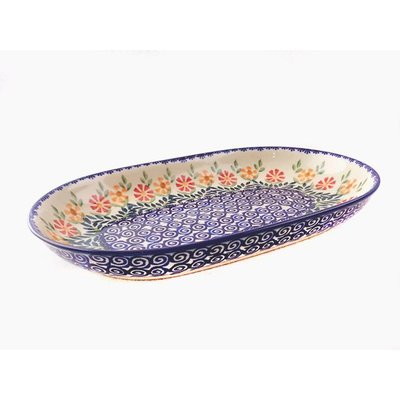 Marigolds Oval Tray - Med/Sm