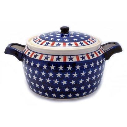 Patriot Covered Pot