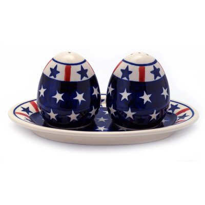 Patriot Salt & Pepper w/ Tray
