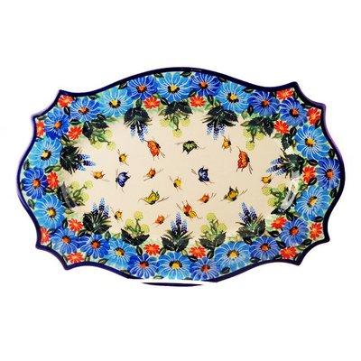 Kalich Artistic Butterfly Cezar Platter