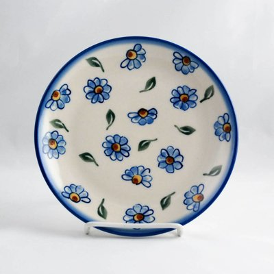 Painted Daisy Dessert Plate 19
