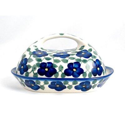 Petals & Ivy Butter Dish w/ Handle