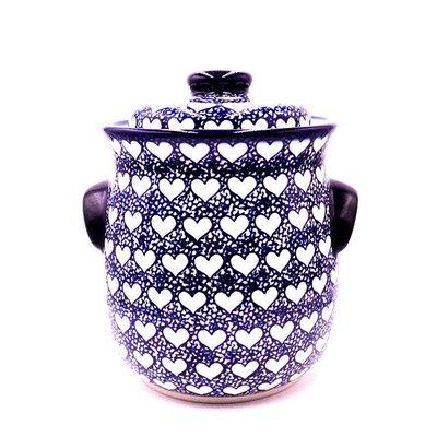 Hearts Cookie Jar