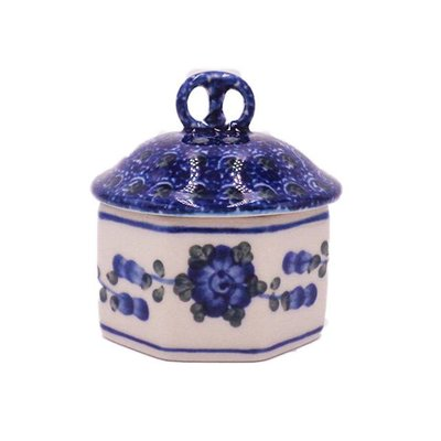CA Blue Poppy Pretzel Box Mini