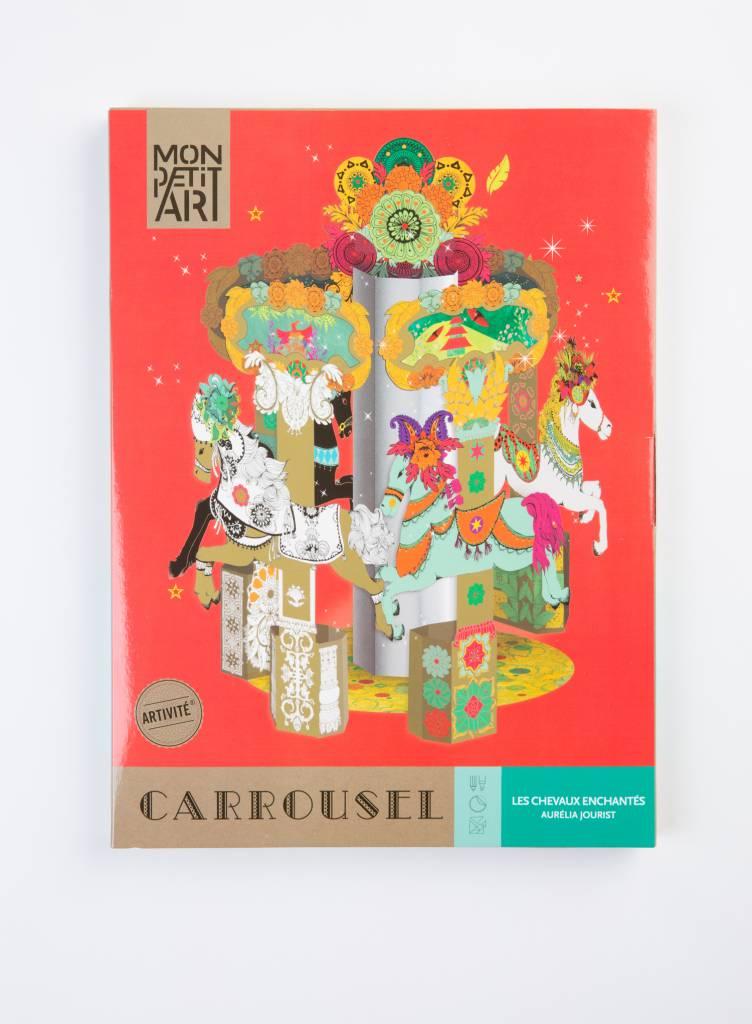 Mon Art Carrousel Art Project