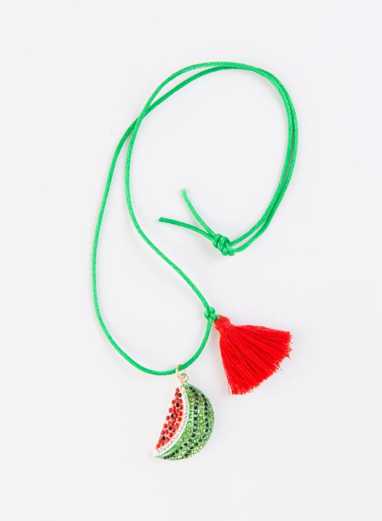 Gunner & Lux Watermelon Love Necklace