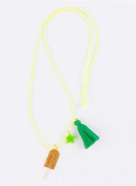 Gunner & Lux Summer Popsicle Necklace