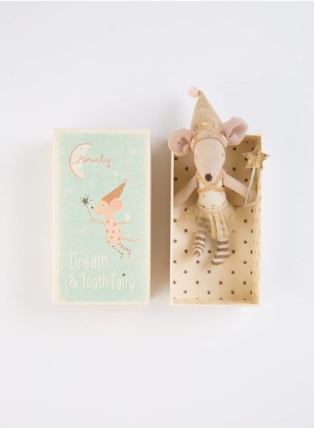 Maileg Tooth Fairy Mouse in Box, Girl, TU
