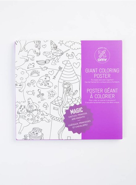 OMY Magic Coloring Poster
