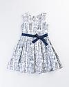 Mystery Floral Cotton/Satin Dress