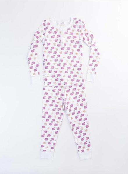 Roberta Roller Rabbit Pajama Set Lavendar Moby