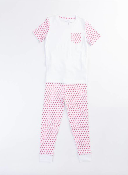 Roberta Roller Rabbit Pink T-Shirt PJ Set