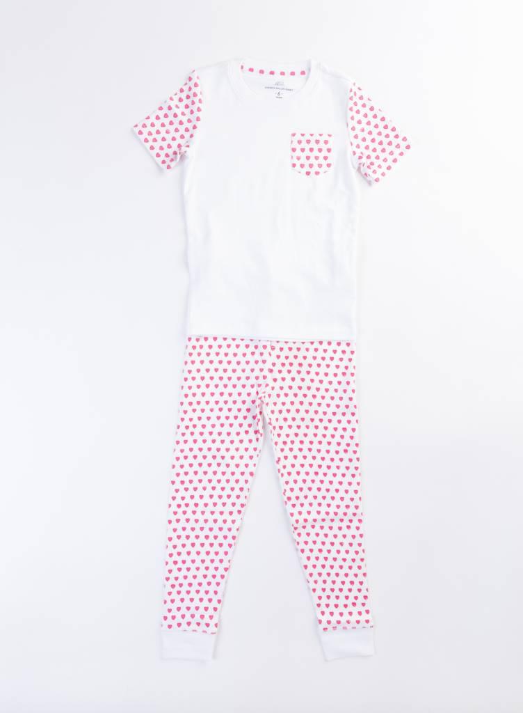 Roberta Roller Rabbit Pink T-Shirt PJ Set