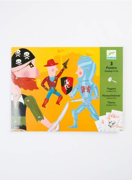 Djeco Jumping Jacks, Cowboy and Company, TU