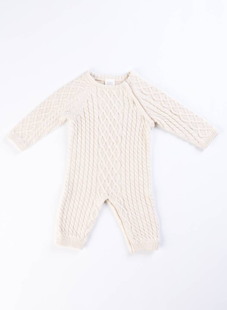 EGG Oat Classic Cable Layette